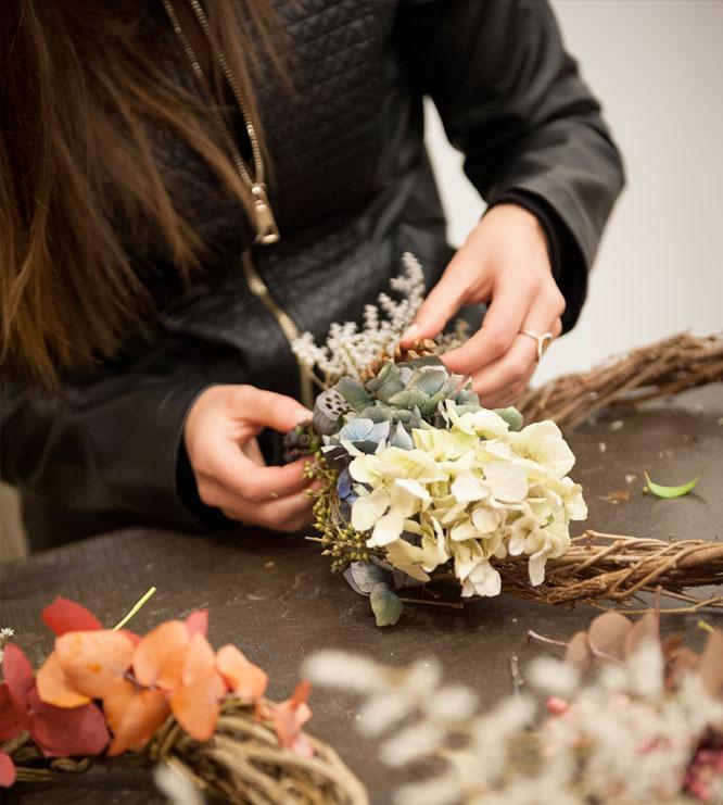 Atelier d'art floral